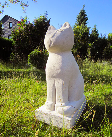 Sitting Buddha Cat